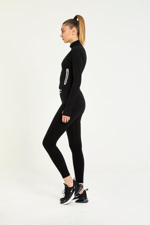 URBAN BLACK ULTRA TECHNOLOGIC HIGH WAISTED LEGGINGS