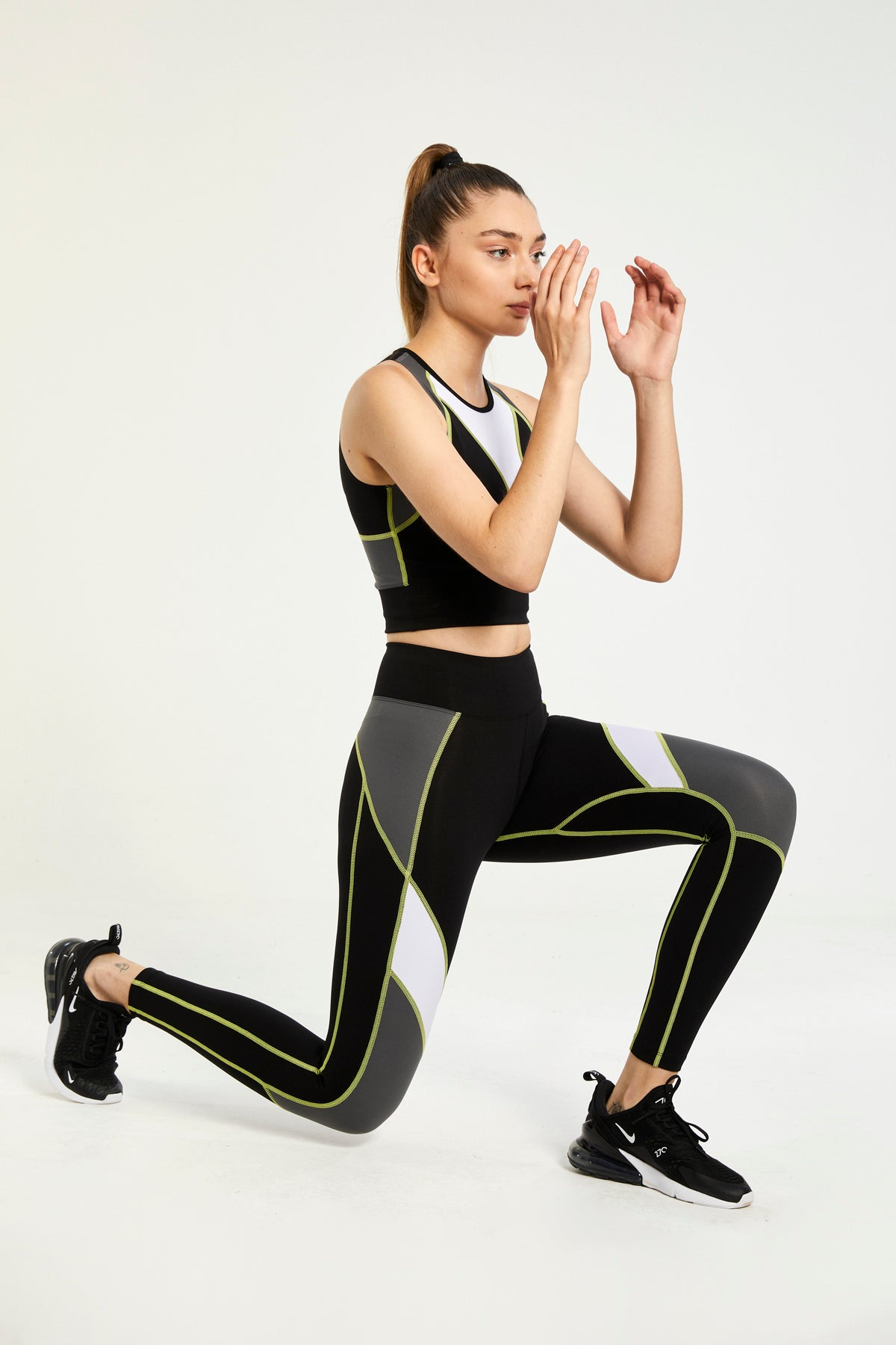 DB'S BLACK ULTRA TECHNOLOGIC HIGH WAISTED LEGGINGS