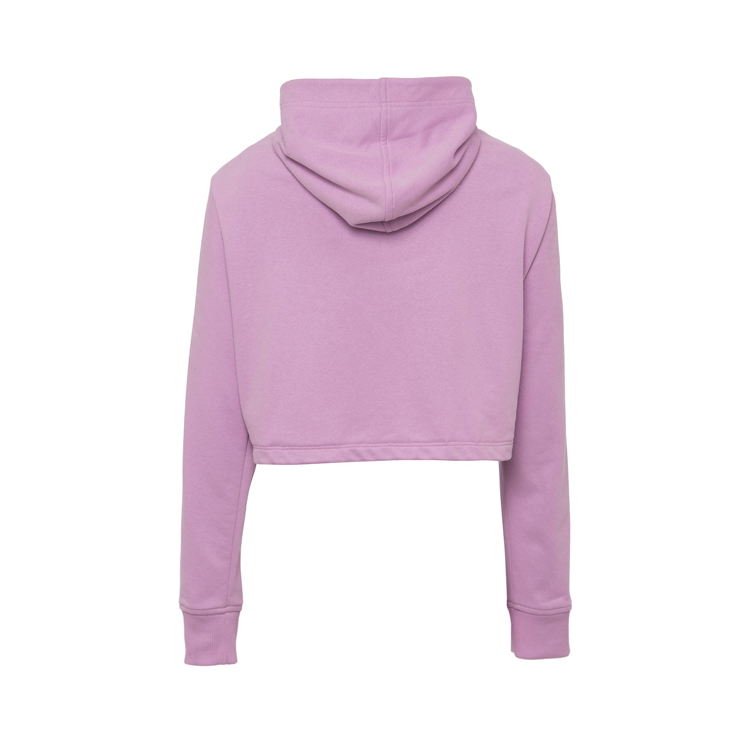FABULOUS AND RECKLESS LILAC CROPPED SWEATSHIRT