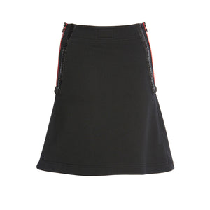 TRIBAL TATTS BLACK MINI SKIRT