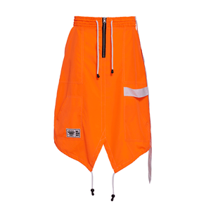 END OF THE WORLD NEON ORANGE SKIRT