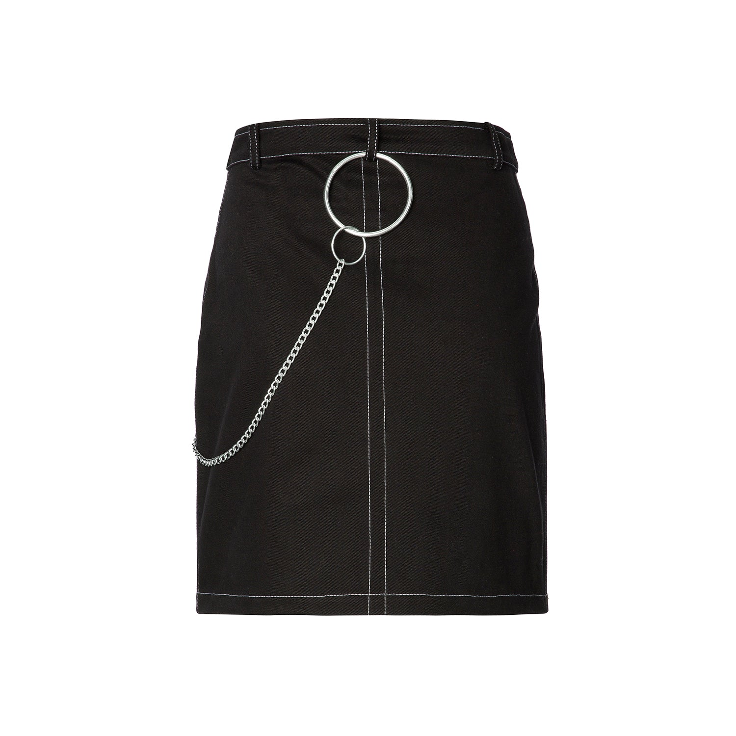 FAKE IS THE NEW BLACK MINI SKIRT