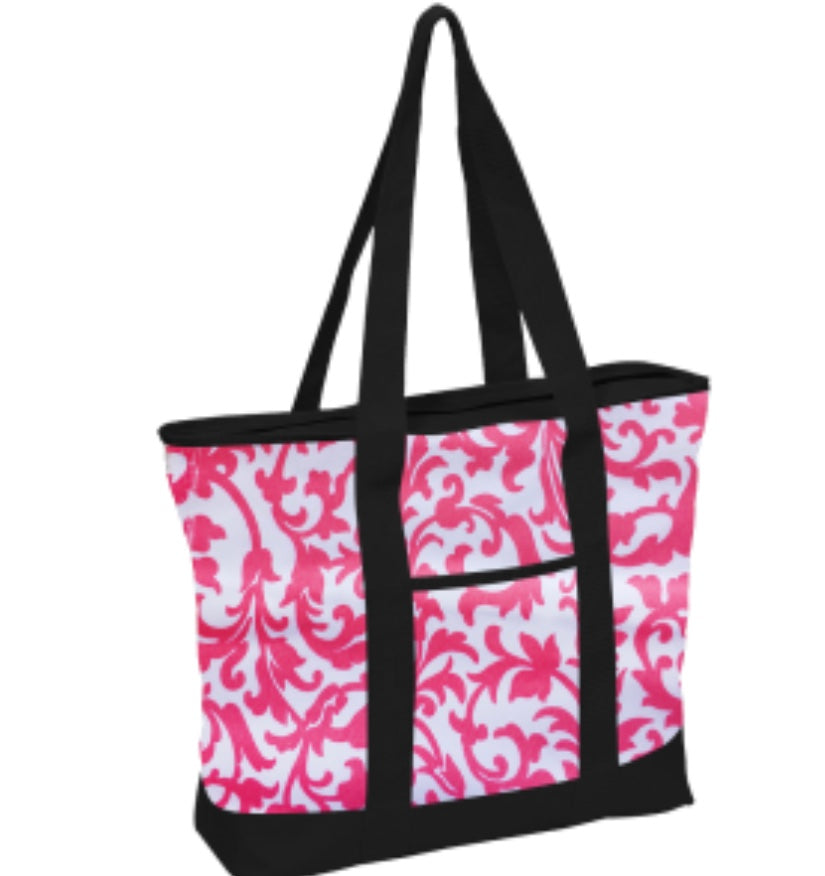 Floral Dots Fashion Tote