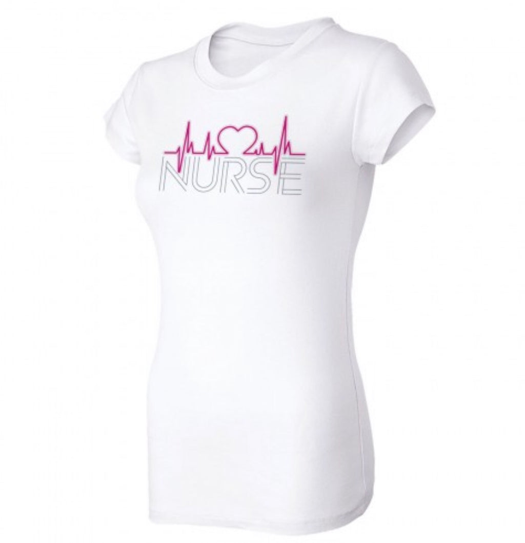 EKG Nurse Short Sleeve