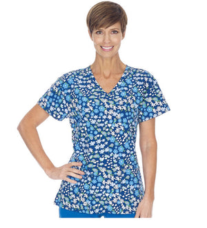 Ladies V-Neck Stretch Top