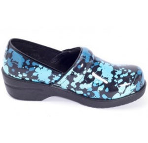 Savvy Brandy Nursing Shoe-Blue Splatter