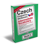 Czech Frequency Dictionary 2 - Intermediate VocabularyMostUsedWordsFrequency Dictionary MostUsedWords
