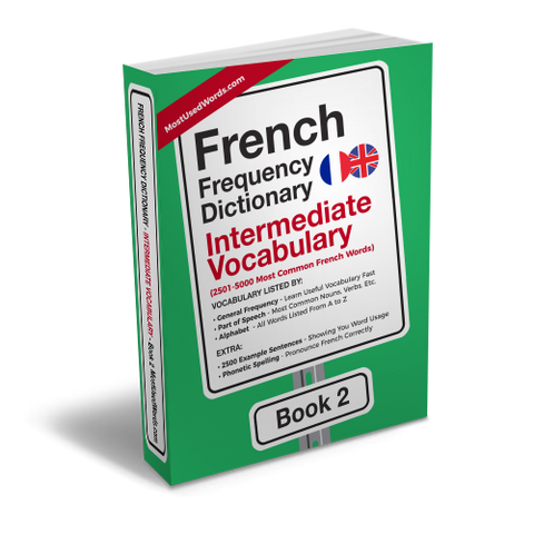 A Frequency Dictionary of French - French Common Words and Verbs