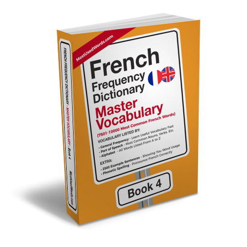 French Frequency Dictionary 4 - Master Vocabulary - Frequency Dictionary - MostUsedWords