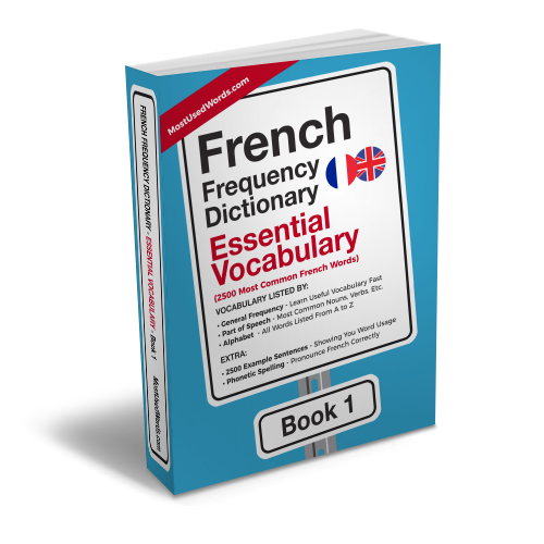 French Frequency Dictionary 1 - Essential Vocabulary