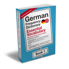 german frequency dictionary