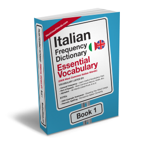 Italian Frequency Dictionary 1 - Essential Vocabulary - Frequency Dictionary - MostUsedWords