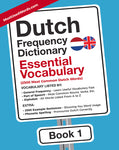 Dutch Frequency Dictionary - Essential Vocabulary: 2500 Most Common Dutch Words (Dutch-English) PDF E-BOOKMostUsedWords MostUsedWords