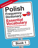Polish Frequency Dictionary 1 - Essential Vocabulary - 2500 Most Common Polish Words