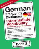 German Frequency Dictionary 2 - Intermediate Vocabulary - 2501 - 5000 Most Common German Words E-BOOK PDF