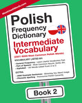 Polish Frequency Dictionary 2 - Intermediate Vocabulary - 2501 - 5000 Most Common Polish Words
