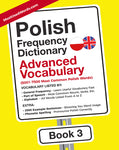 Polish Frequency Dictionary 3 - Advanced Vocabulary - 5001- 7500 Most Common Polish Words