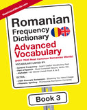Romanian Frequency Dictionary 3 - Advanced Vocabulary - 5001- 7500 Most Common Romanian WordsMostUsedWordsFrequency Dictionary MostUsedWords