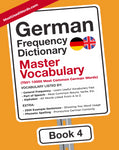 German Frequency Dictionary 4 - Master Vocabulary - 7500 - 10000 most common German WordsMostUsedWordsFrequency Dictionary MostUsedWords