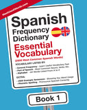 Spanish Frequency Dictionary 1 - Essential VocabularyMostUsedWordsFrequency Dictionary MostUsedWords