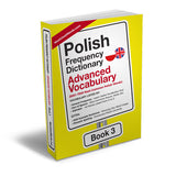 Polish Frequency Dictionary 3 - Advanced VocabularyMostUsedWordsFrequency Dictionary MostUsedWords