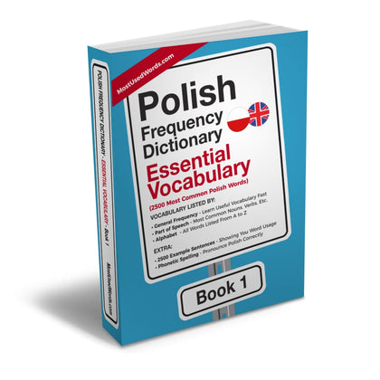 Polish Frequency Dictionary 1 - Essential Vocabulary - 2500 Most Common Polish WordsMostUsedWordsFrequency Dictionary MostUsedWords