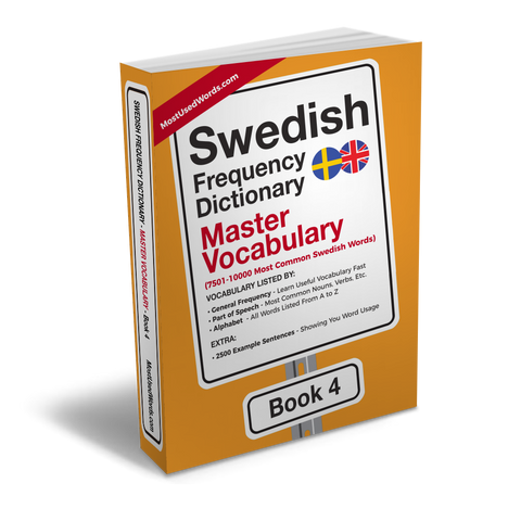Swedish Frequency Dictionary 4 - Master Vocabulary - Frequency Dictionary - MostUsedWords