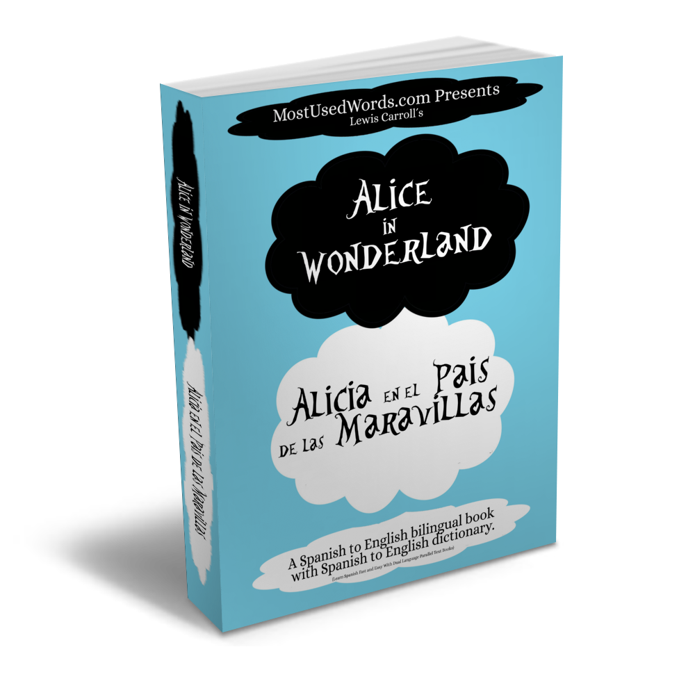 Alice In Wonderland Spanish Bilingual Book Mostusedwords