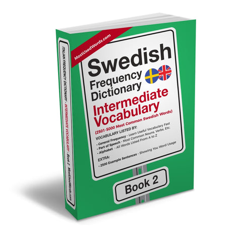 Swedish Frequency Dictionary 2 - Intermediate Vocabulary - Frequency Dictionary - MostUsedWords