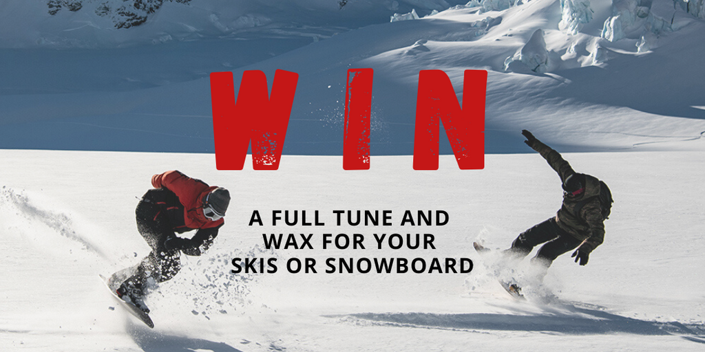 WIN a complete snowboard or ski service at Mount Surf Shop
