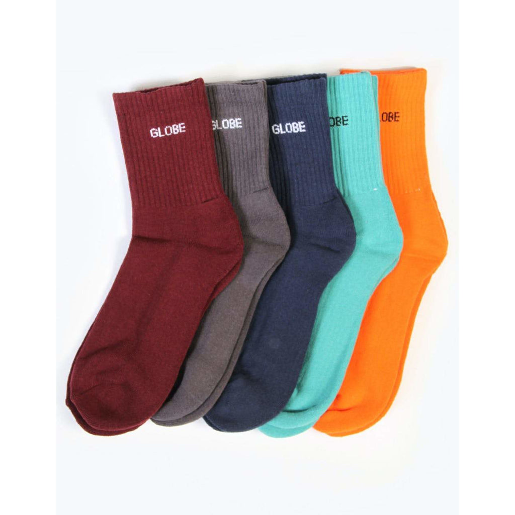 KENSINGTON CREW SOCK 5 PACK