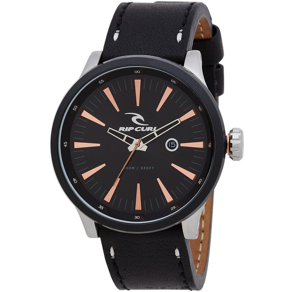 RECON XL SURF LEATHER WATCH