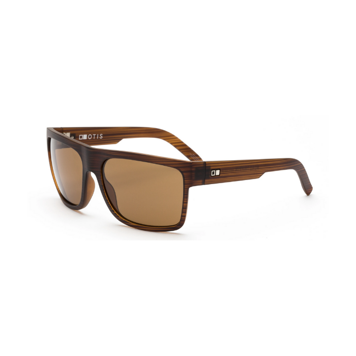 ROAD TRIPPIN - WOODLAND MATTE / BROWN OTIS SUNGLASSES