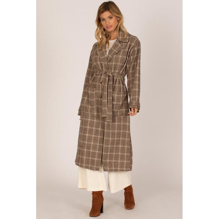 EMMANUELLE WOVEN TRENCH