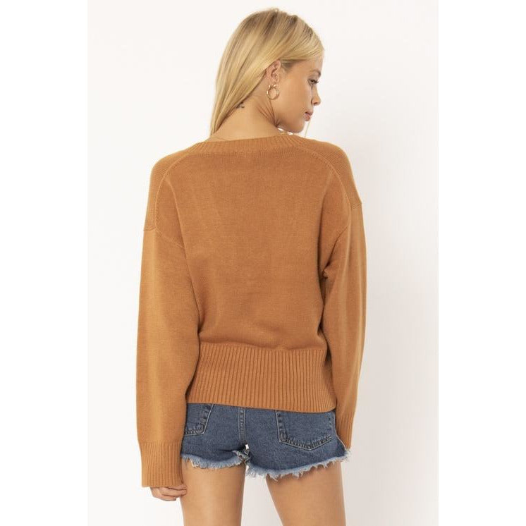 KERI L/S FLEECE TOP