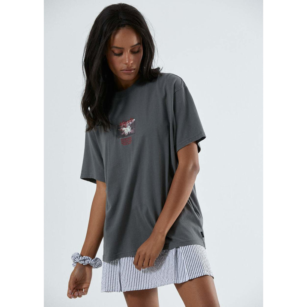 FOOL ON FIRE OVERSIZED TEE AFENDS