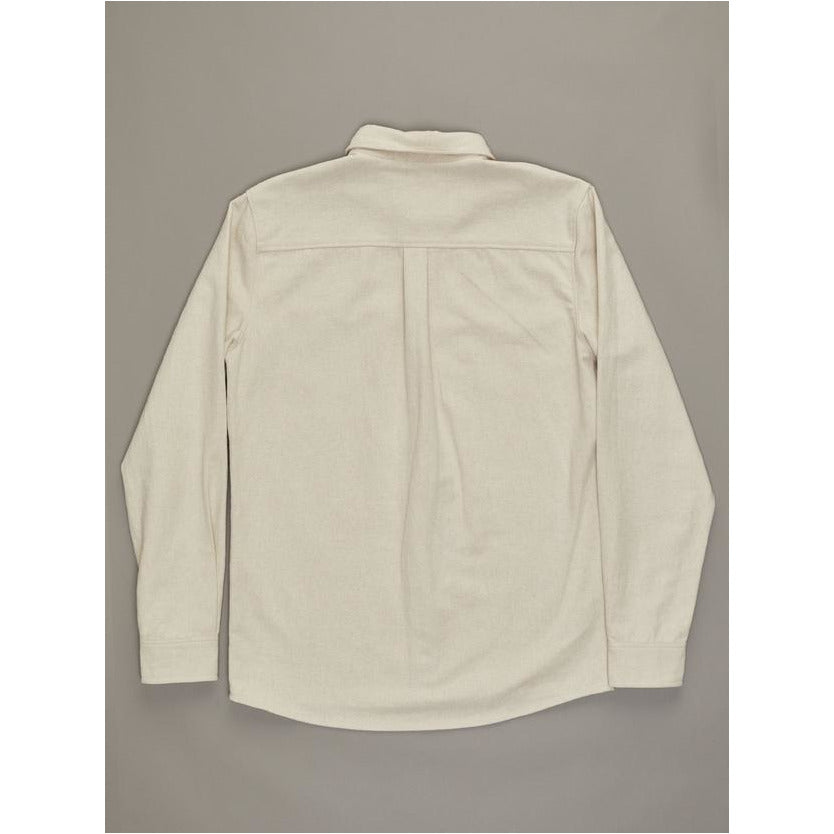 JUST ANOTHER FISHERMAN ANCHORAGE SHIRT - NATURAL JAF