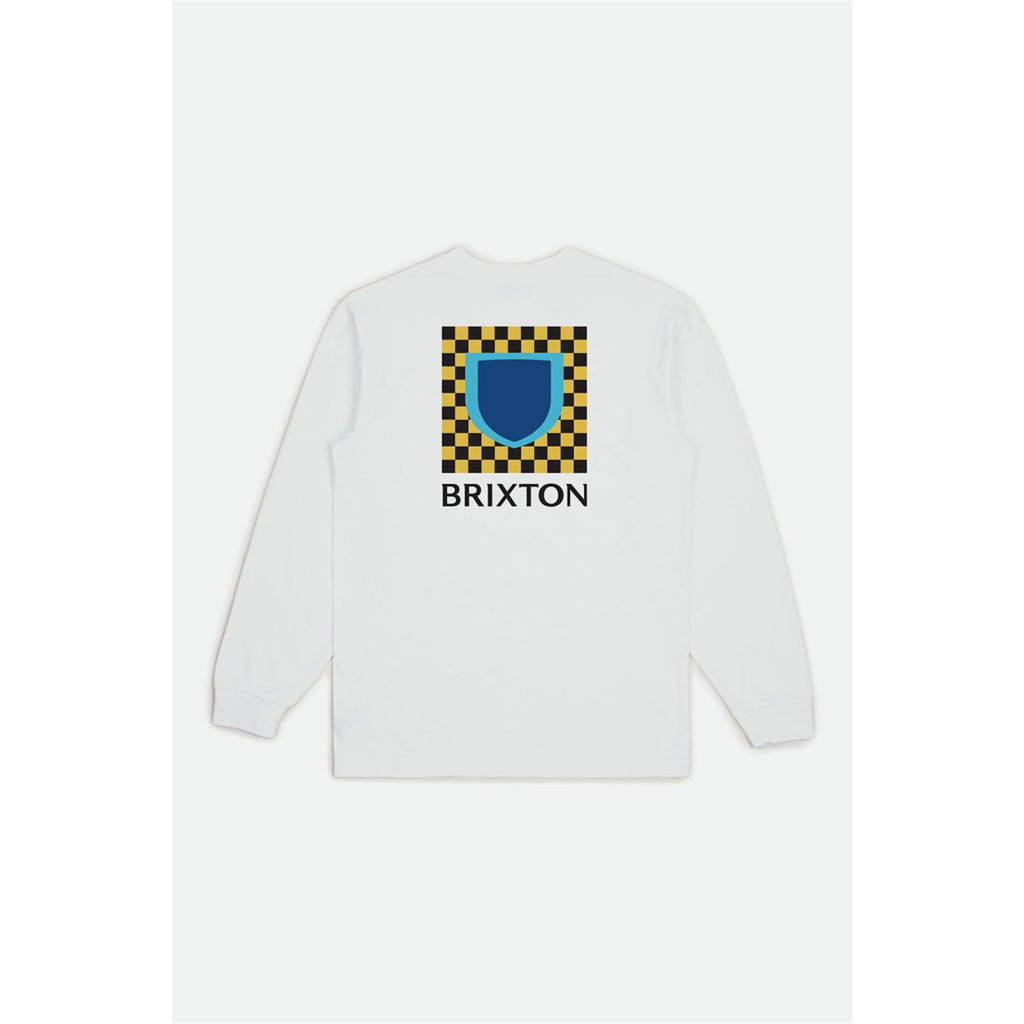 brixton BETA CHECKERS L/S TEE