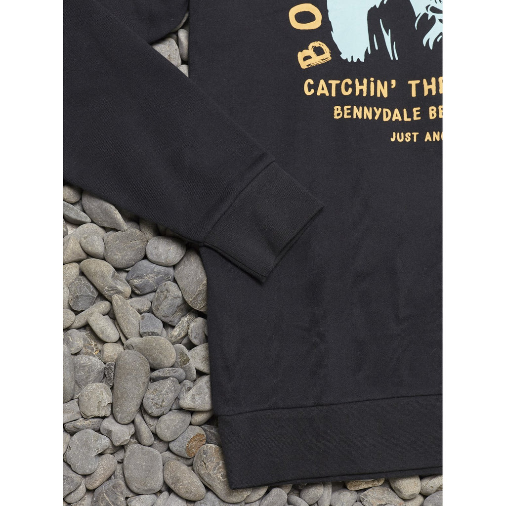 BOBS BAIT AND TACKLE CREW - BLACK JUST ANOTHER FISHERMAN