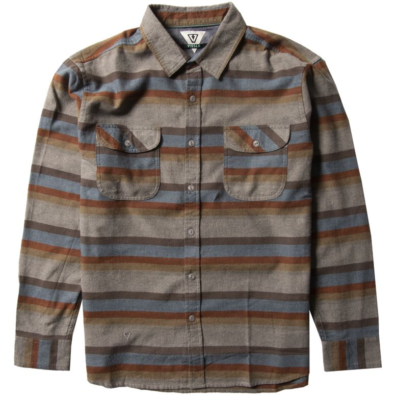 CENTRAL COAST LS FLANNEL SHIRT