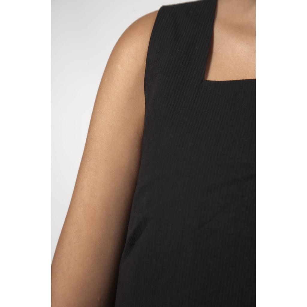 CHLOE TOP THING THING BLACK