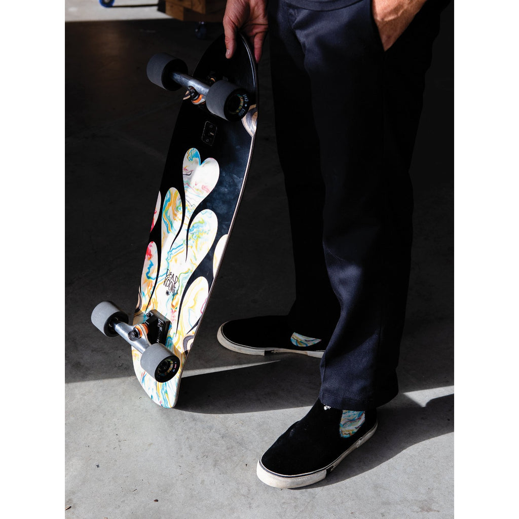 BIG BLAZER SKATEBOARD DEAD KOOKS RESIGN BLACK