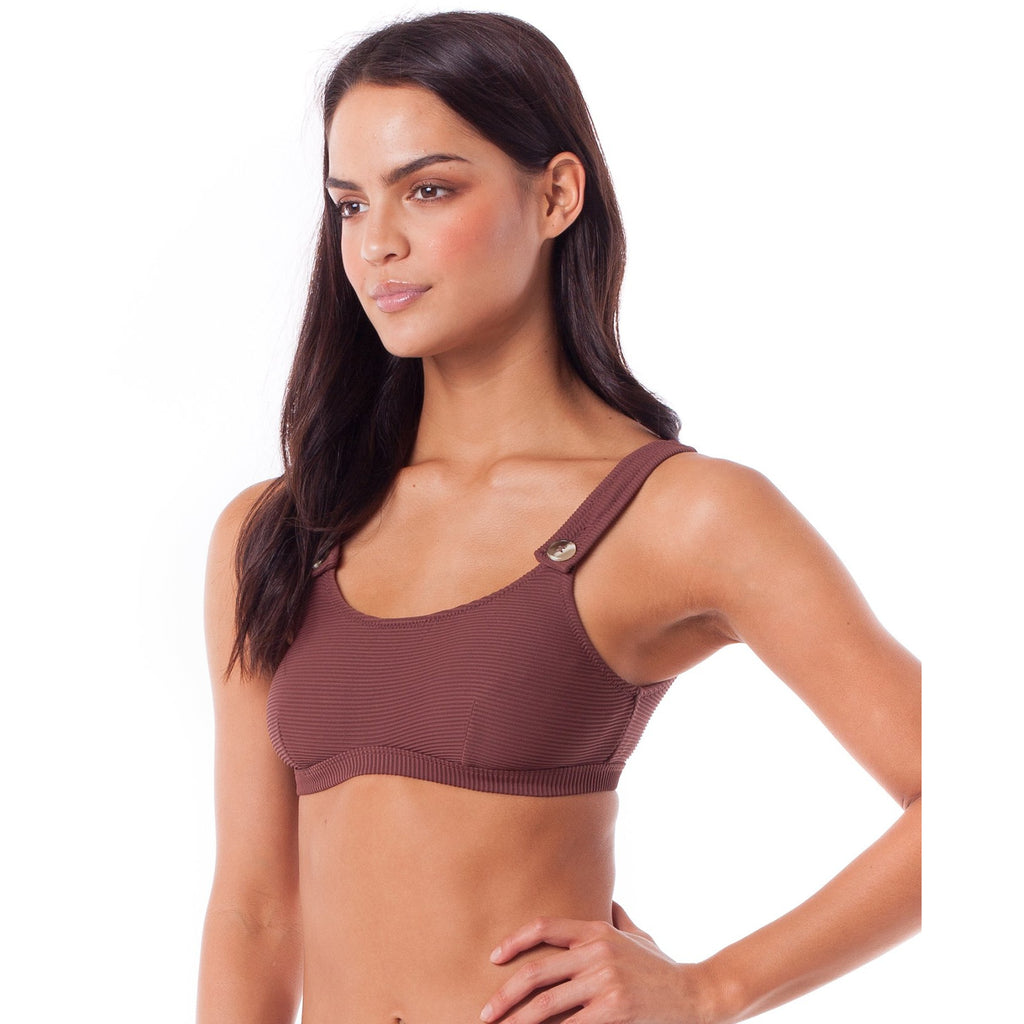 PALM SPRINGS TANK TOP MULBERRY
