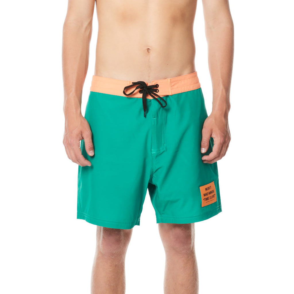 JAUNT BOARDSHORT MISFITS GREEN ORANGE