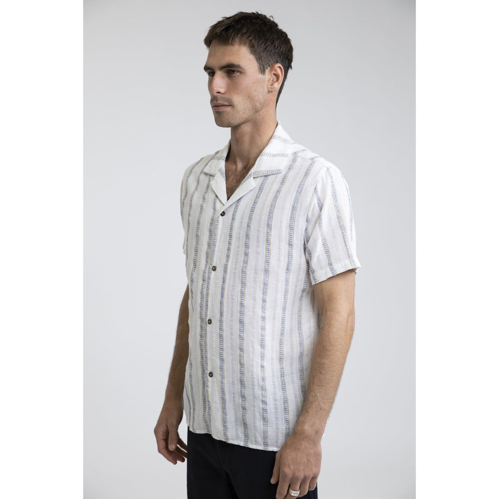 VACATION STRIPE SS SHIRT