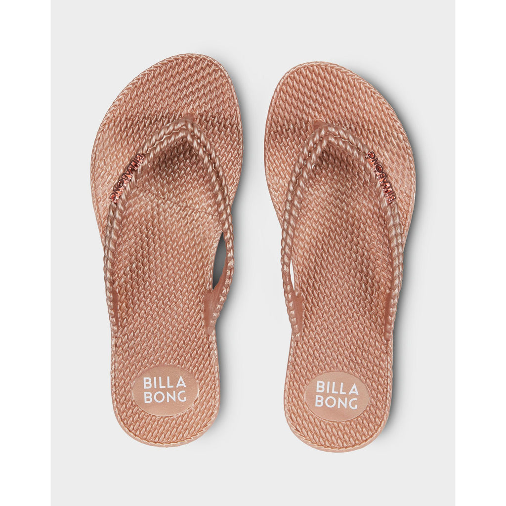 BILLABONG KICK BACK THONG ROSE GOLD