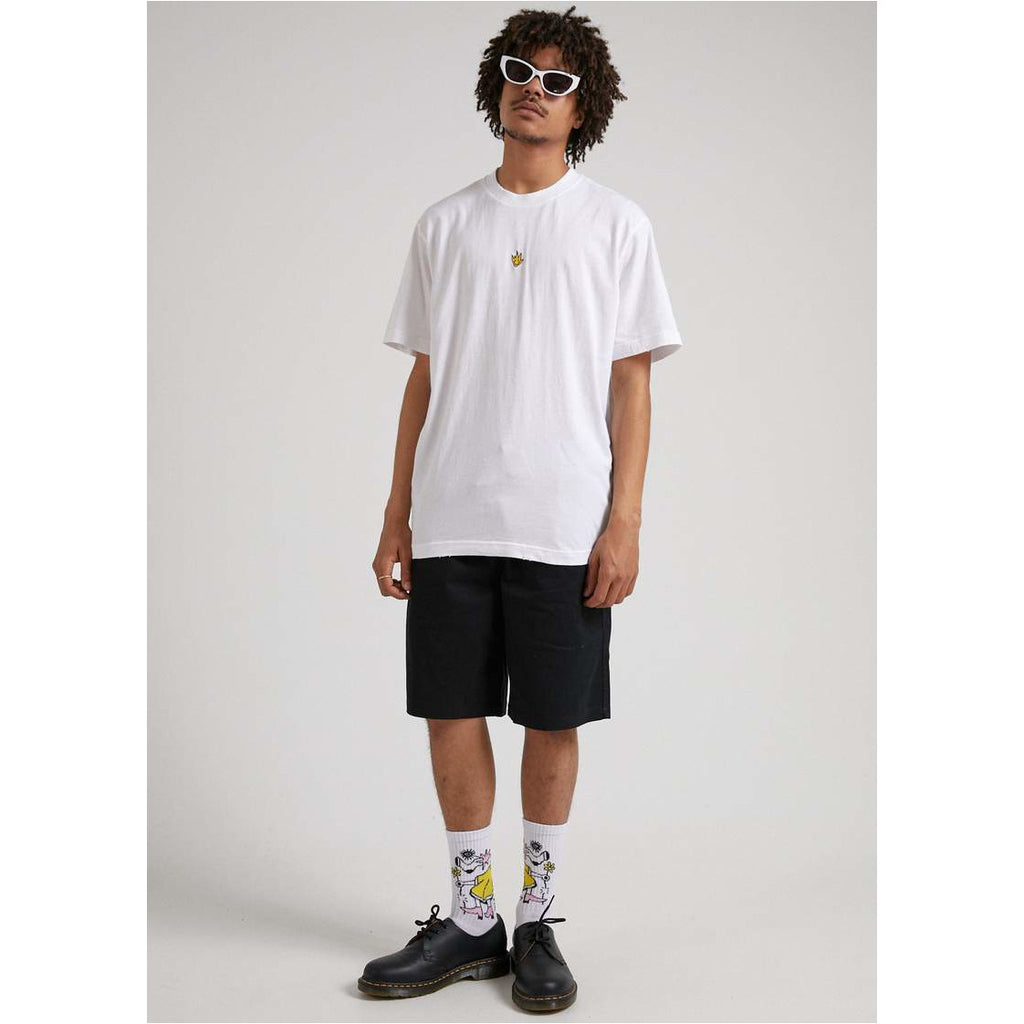 afends TITO FLAME - RETRO FIT TEE