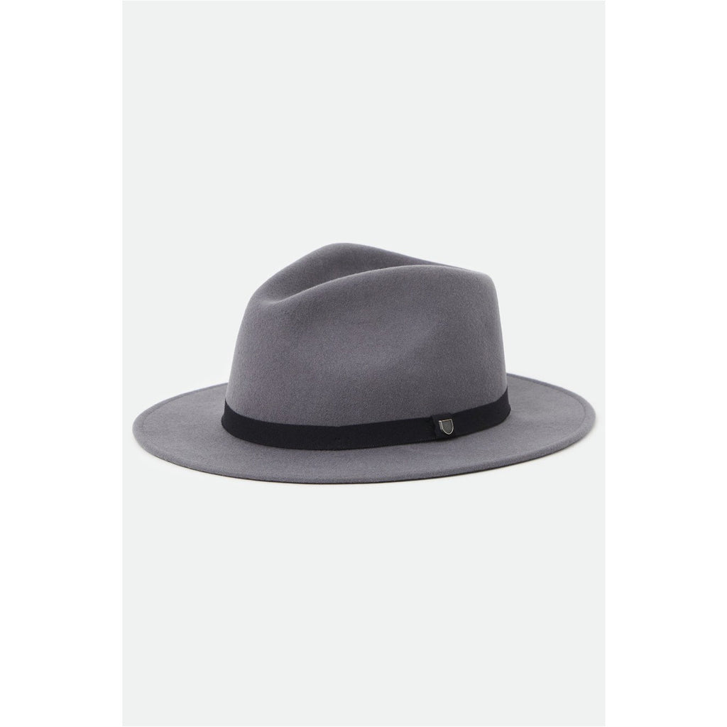 MESSER PACKABLE FEDORA - CHARCOAL