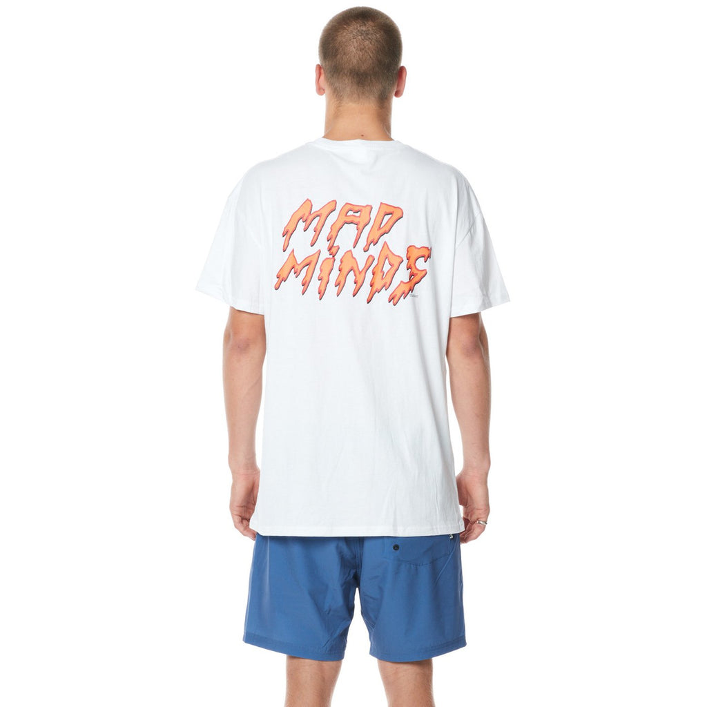 POWDER WORKS TEE WASHED WHITE