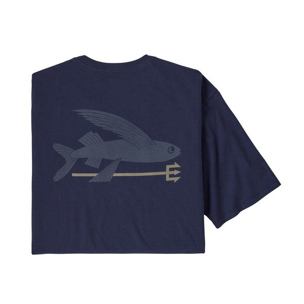 FLYING FISH ORGANIC TSHIRT